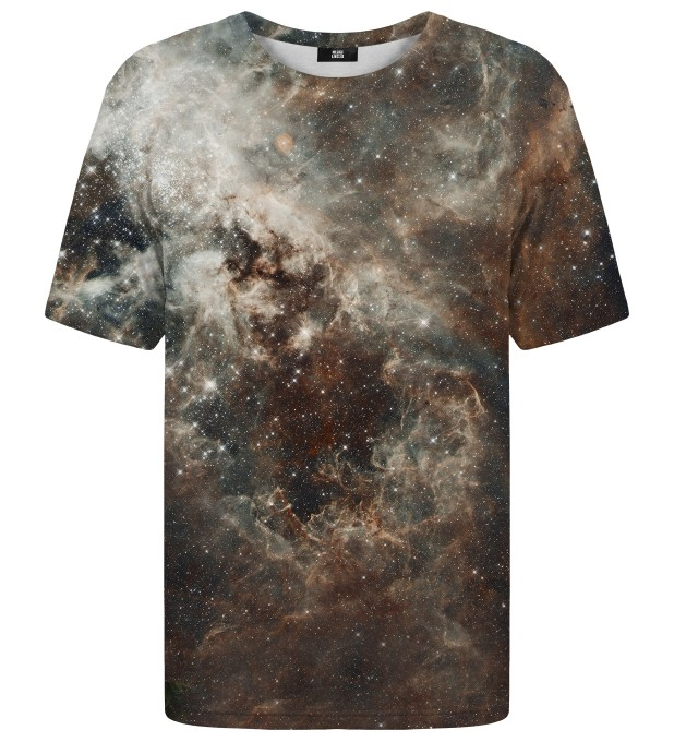 Golden Blue Galaxy t-shirt Miniaturbild 1