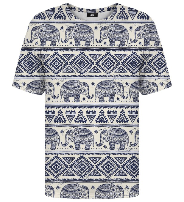 Elephants Pattern t-shirt Thumbnail 2
