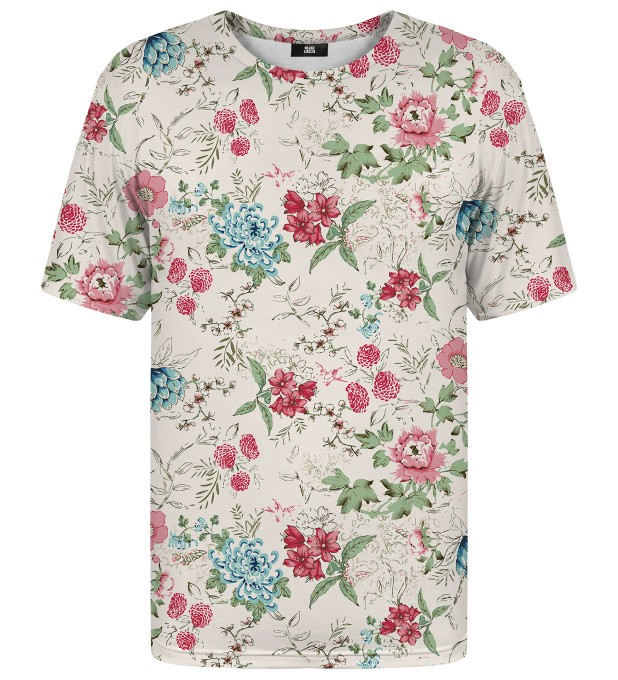 Flowers Sketch t-shirt Miniatura 2