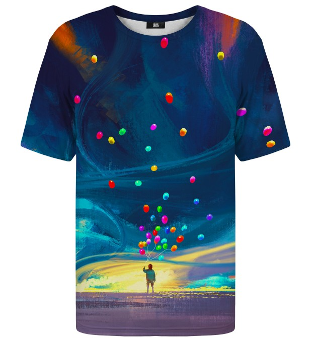Colorful Balloons t-shirt Miniature 1