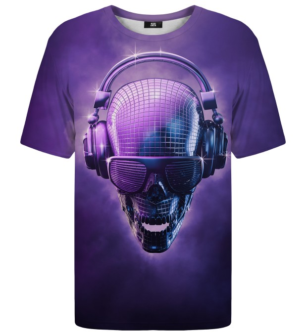 Disco Skull t-shirt Miniature 1