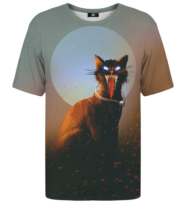 Evil Cat t-shirt Thumbnail 1