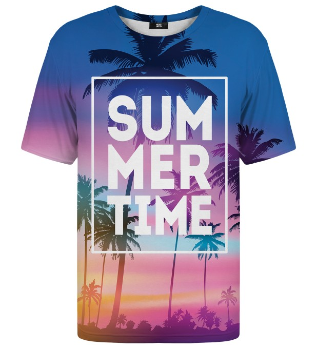 Summer Time t-shirt Miniaturbild 1