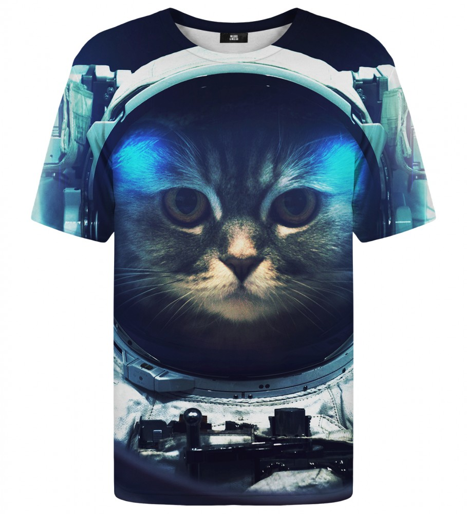 Mr. Gugu & Miss Go, T-shirt Space Cat Zdjęcie $i