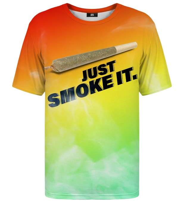 T-shirt Just Smoke It Miniatury 1