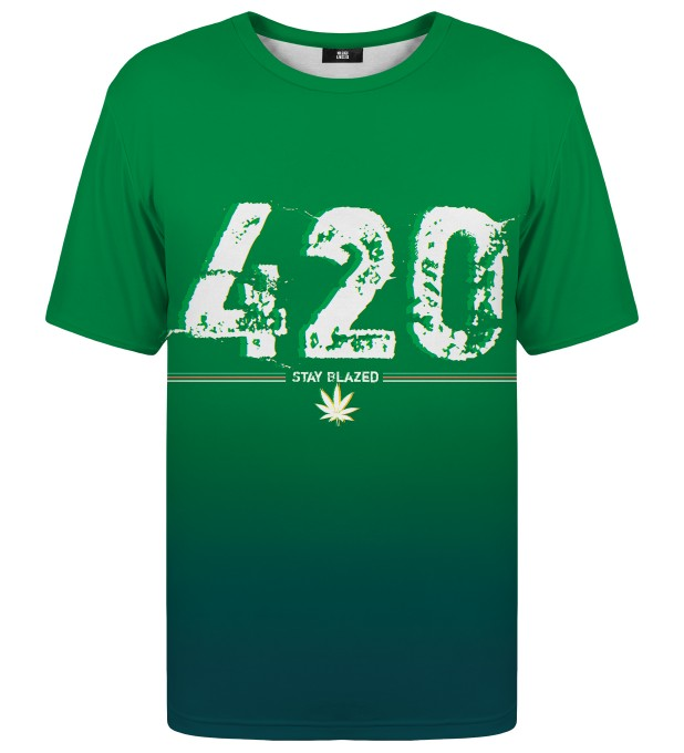 T-shirt Stay Blazed Miniatury 1