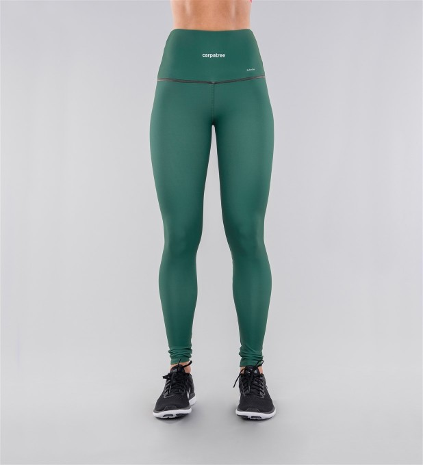 Full Pine Green Highwaist Leggings Thumbnail 2