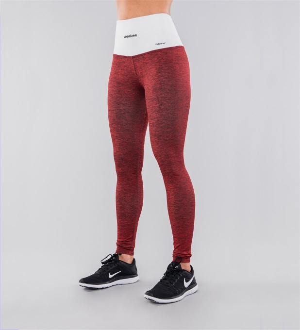 Crimson & White Belt Highwaist Leggings Miniatura 1