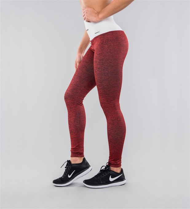 Crimson & White Belt Highwaist Leggings Miniature 2