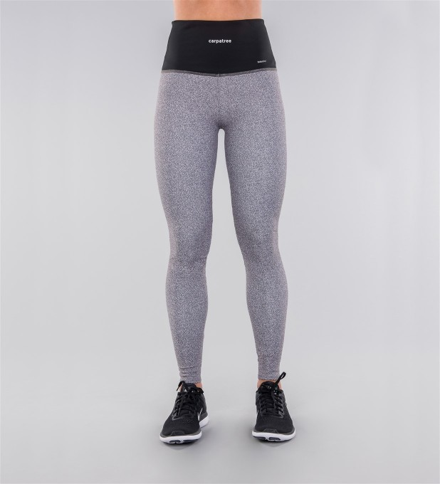 Gravel & Black Belt Highwaist Leggings Thumbnail 2
