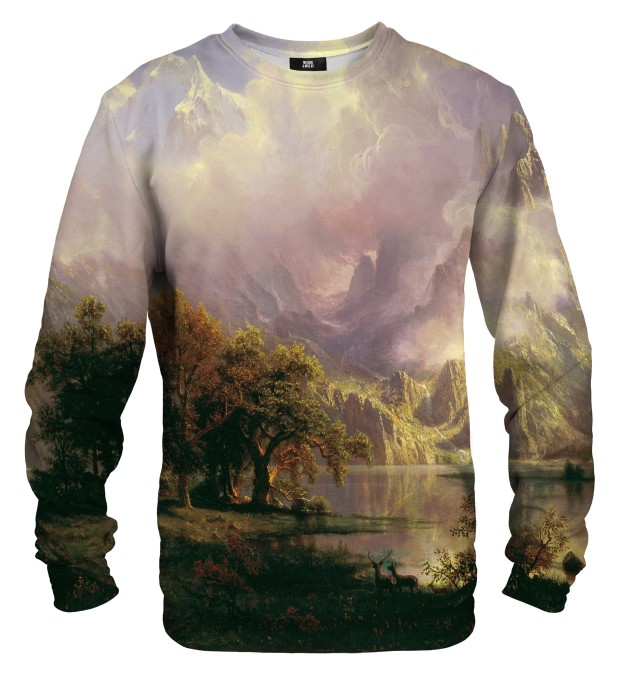 Rocky Mountain Landscape sweater Miniature 1