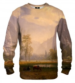 Mr. Gugu & Miss Go, Looking Up the Yosemite Valley sweater Thumbnail $i