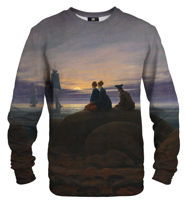 Bluza ze wzorem Moonrise Over The Sea Miniatury 1