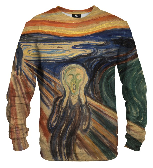 The Scream sweatshirt Miniaturbild 1