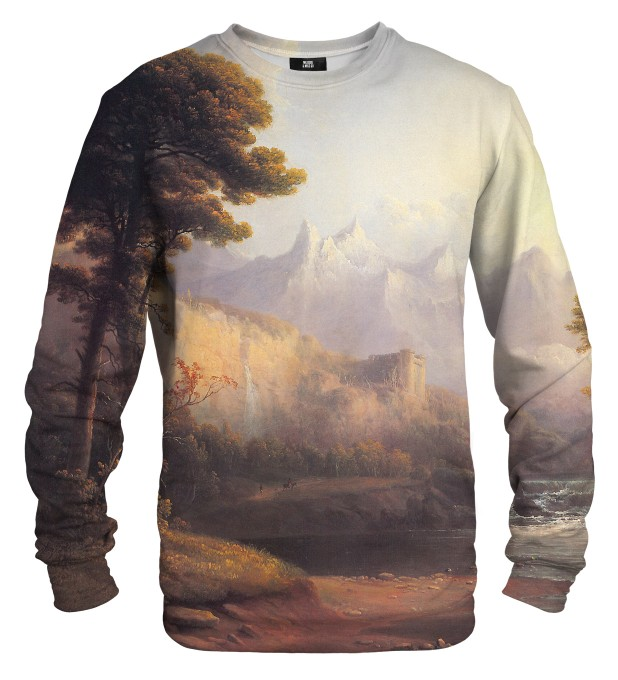 Fanciful Landscape sweater Miniature 1