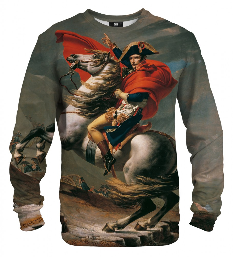 Mr. Gugu & Miss Go, Napoleon Crossing the Alps sweater Image $i