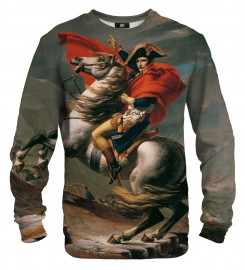 Mr. Gugu & Miss Go, Napoleon Crossing the Alps sweater Thumbnail $i