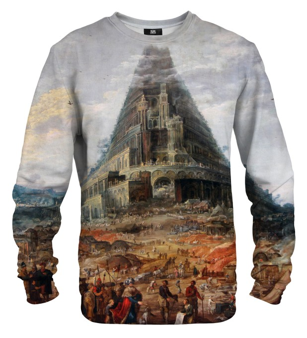 Tower of Babel sweater Thumbnail 1