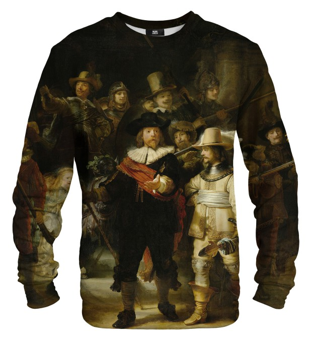 Bluza ze wzorem The Night Watch Miniatury 1