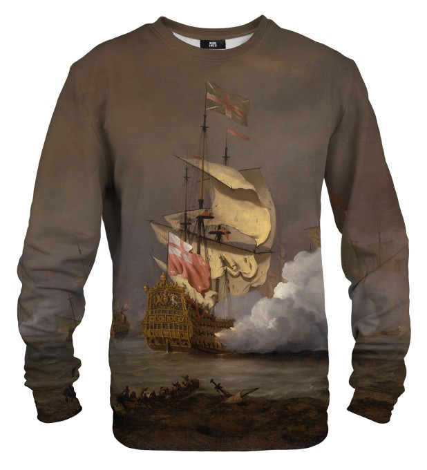 Sea Battle sweater Thumbnail 1