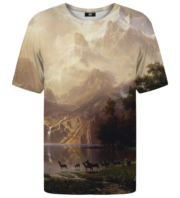 T-shirt Among the Sierra Nevada Mountains Miniatury 1