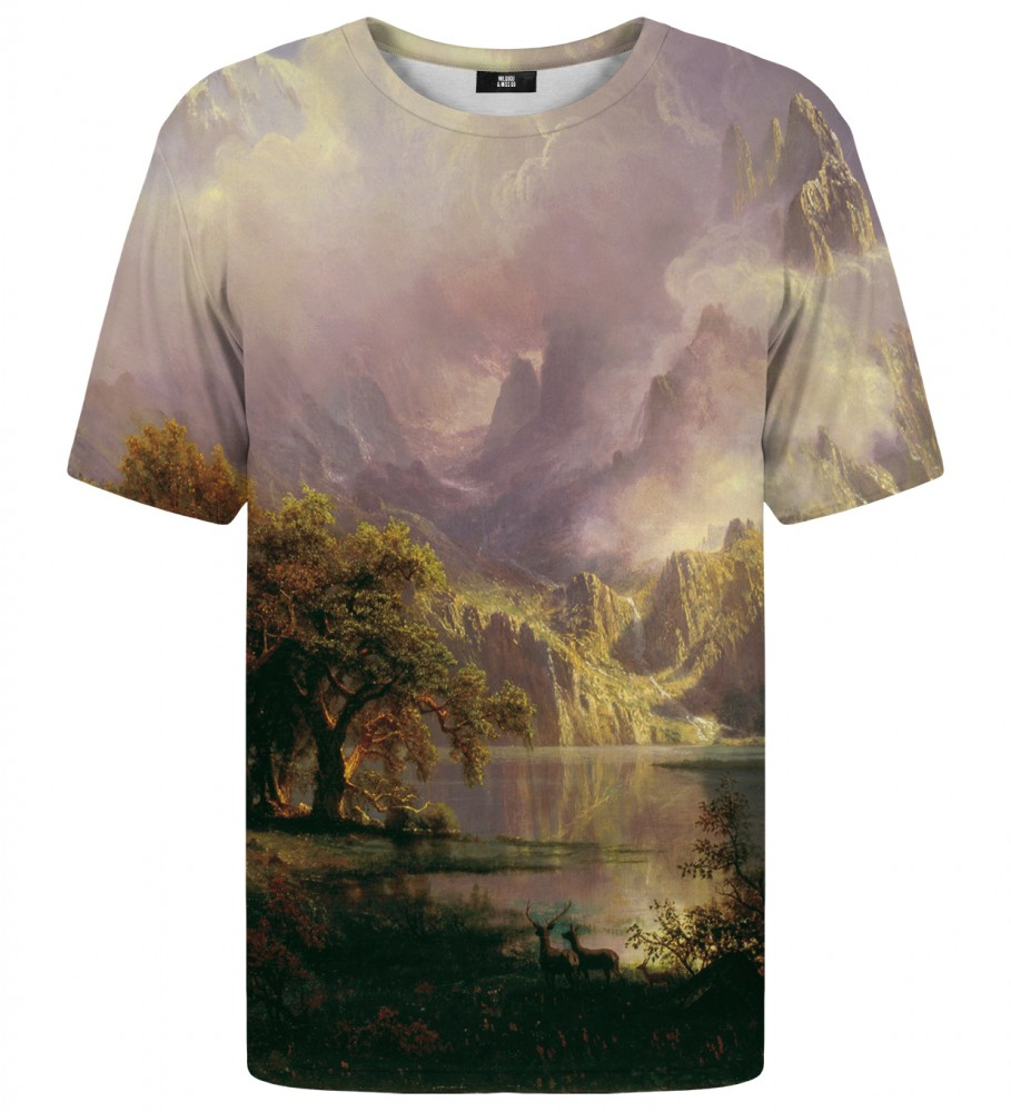 Mr. Gugu & Miss Go, Rocky Mountain Landscape t-shirt Image $i