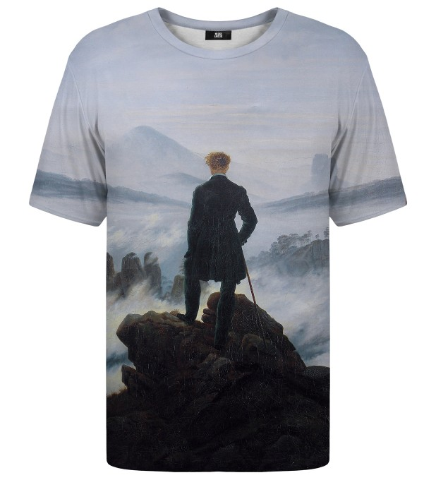 Wanderer above the Sea of Fog t-shirt Miniatura 1