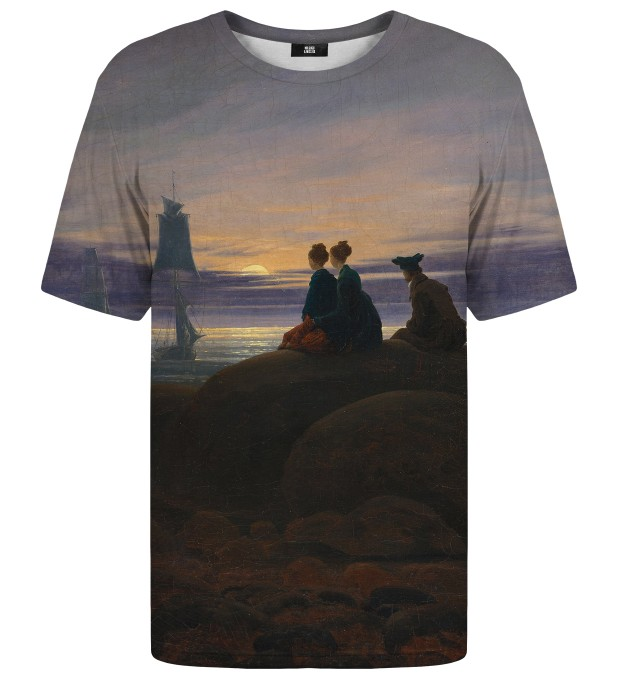 T-shirt Moonrise Over The Sea Miniatury 1