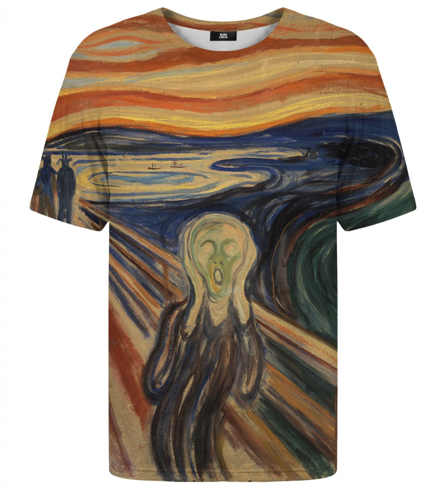 Mr. Gugu & Miss Go, The Scream t-shirt Immagine $i