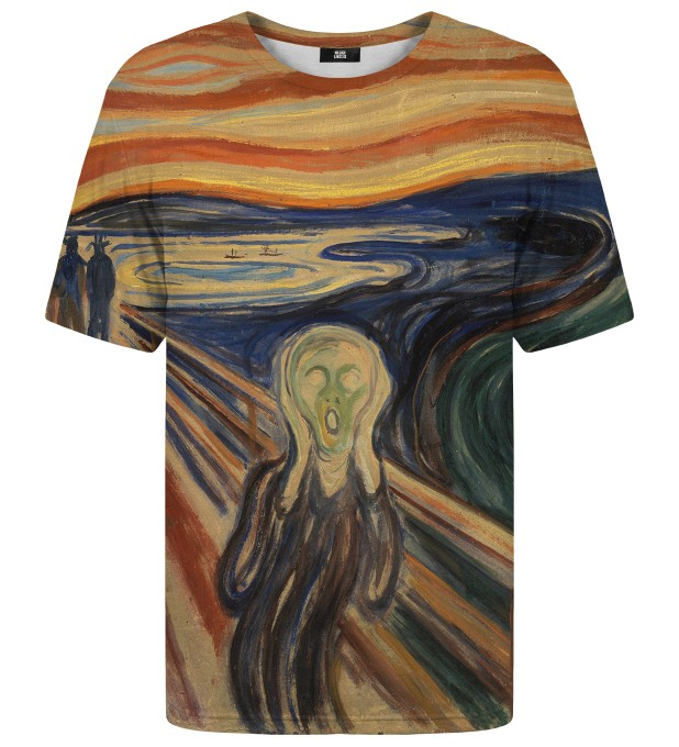 The Scream t-shirt Miniatura 1