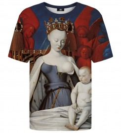Mr. Gugu & Miss Go, Virgin and Child t-shirt Thumbnail $i