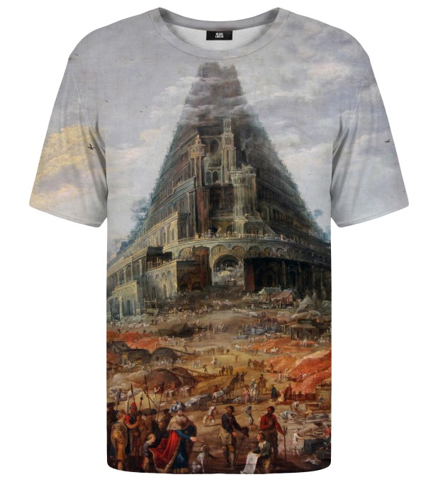 T-shirt Tower of Babel Miniatury 1