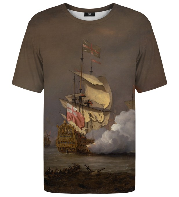 Sea Battle t-shirt Miniatura 1