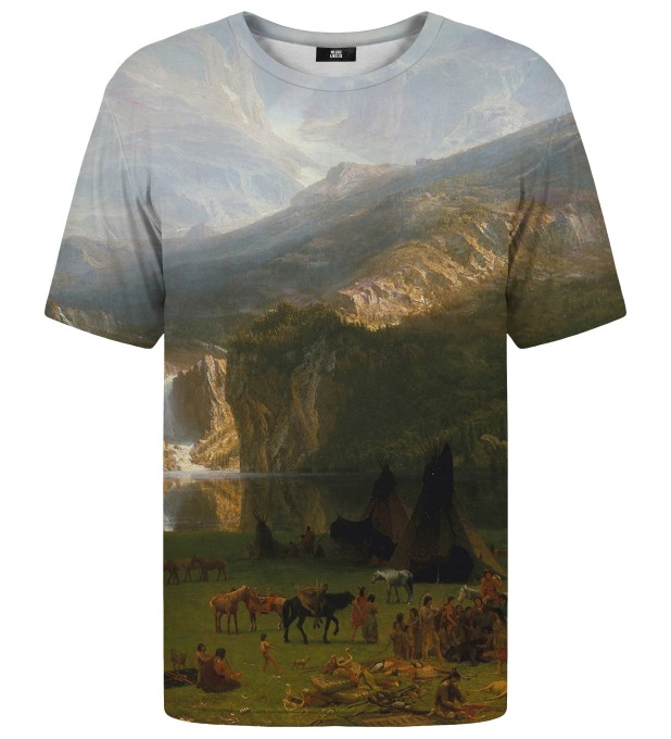 T-shirt The Rocky Mountains Lander's Peak Miniatury 1