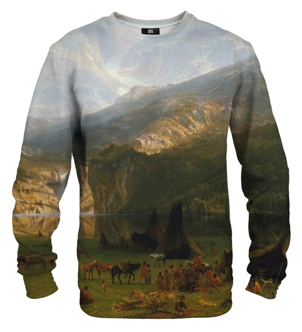 Bluza ze wzorem The Rocky Mountains Lander's Peak Miniatury 1