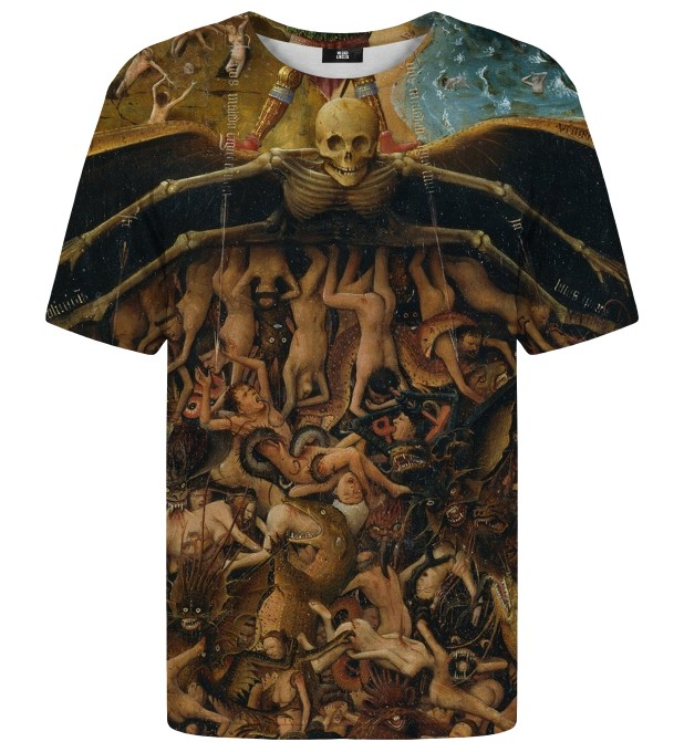 Crucifixion and Last Judgement t-shirt Miniature 1