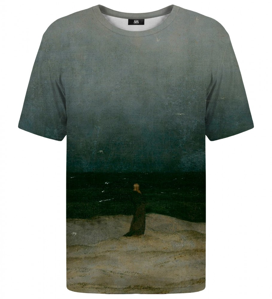 Mr. Gugu & Miss Go, Monk by the Sea t-shirt Image $i