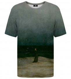 Mr. Gugu & Miss Go, Monk by the Sea t-shirt Thumbnail $i
