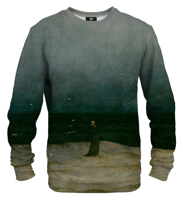 Monk by the Sea sweatshirt Miniaturbild 1