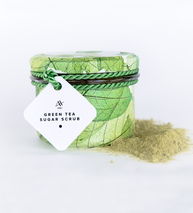 Green Tea Sugar Scrub 200g Miniatura 1