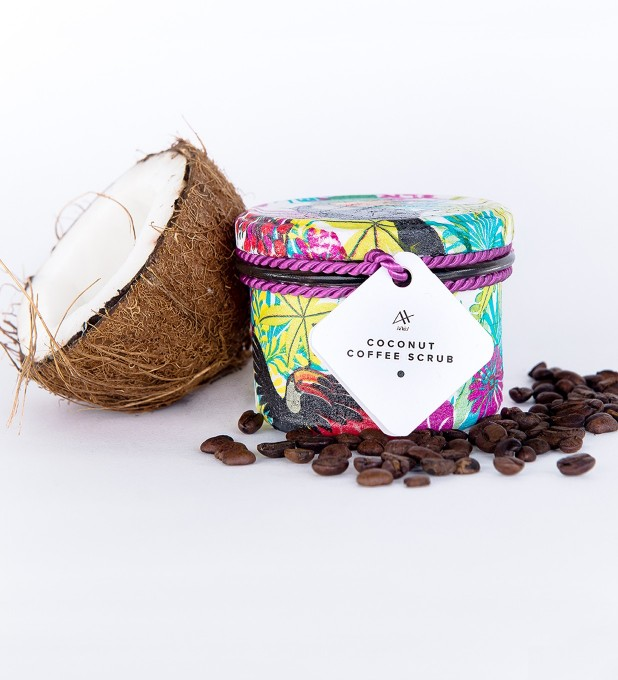 Coconut Coffee Scrub 200g Miniatura 1
