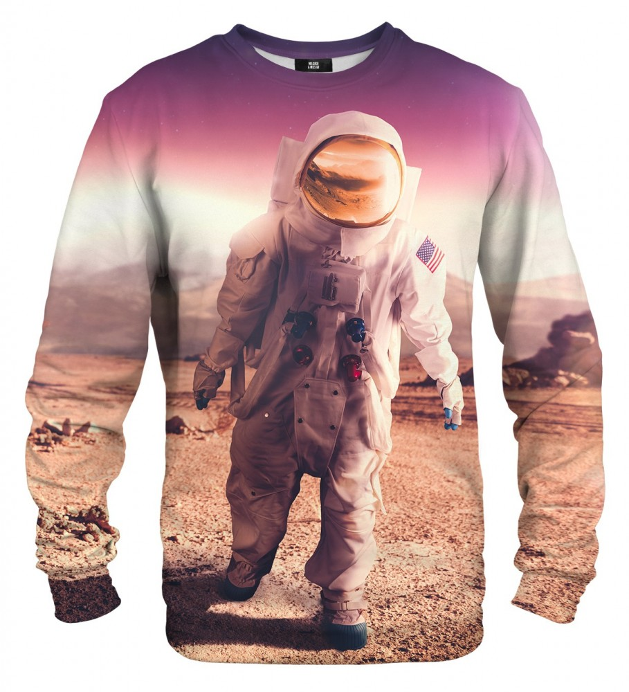Mr. Gugu & Miss Go, First in Space sweater Image $i