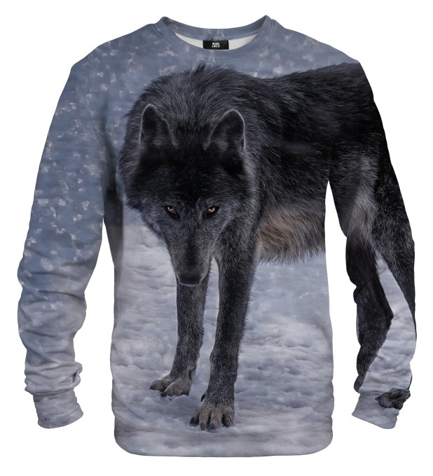 Black Wolf sweater Miniature 1