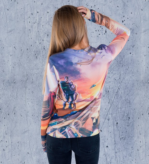 Gaya Spaceport womens sweater Miniature 2