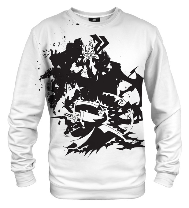 B&W Samurai sweater Miniature 1