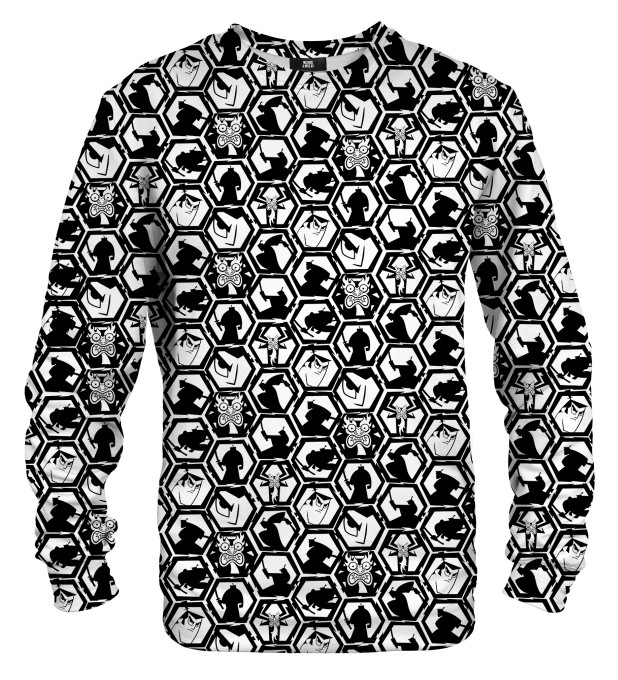 B&W Pattern sweater Miniatura 1
