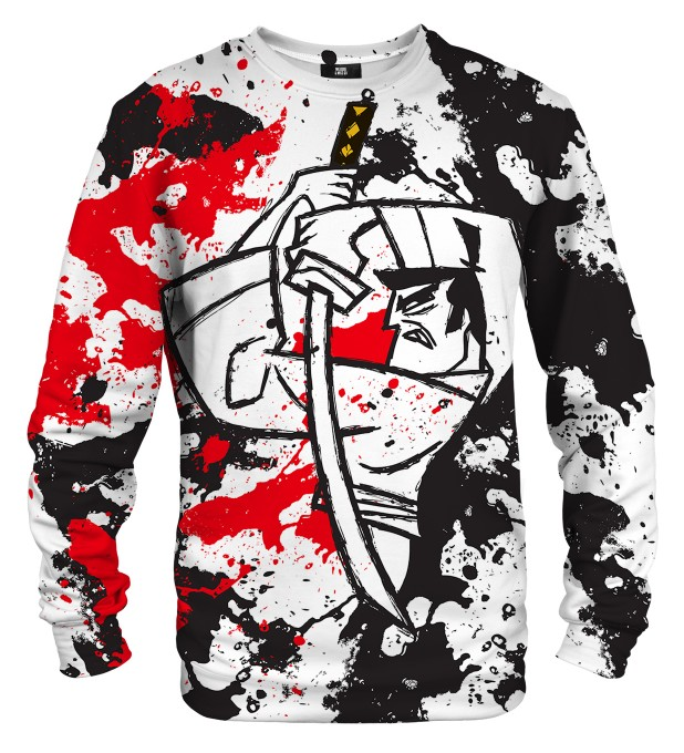 Samurai Sketch sweater Thumbnail 1
