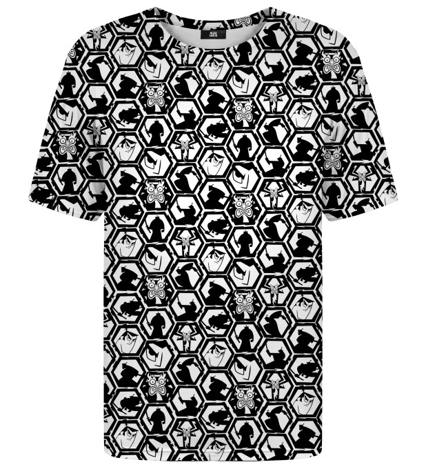 B&W Pattern t-shirt Miniature 1