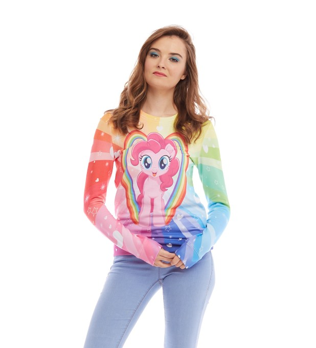 Pinkie Pie Love womens sweater Miniature 2