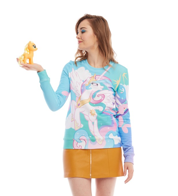 Princess Celestia womens sweater Miniature 2
